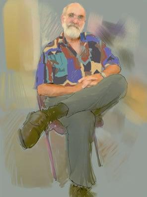 Digital Portrait of Isaiah