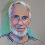 Pastel portrait of Billy