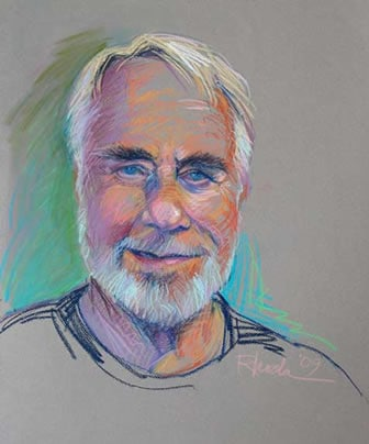 Pastel portrait of Billy