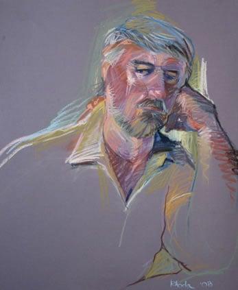 Pastel Portrait Of David