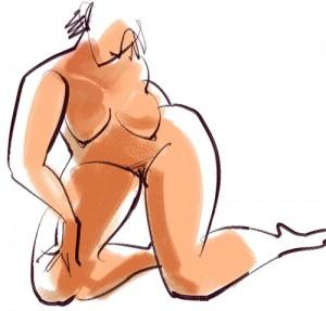 Nude Gesture 09-9-1-019