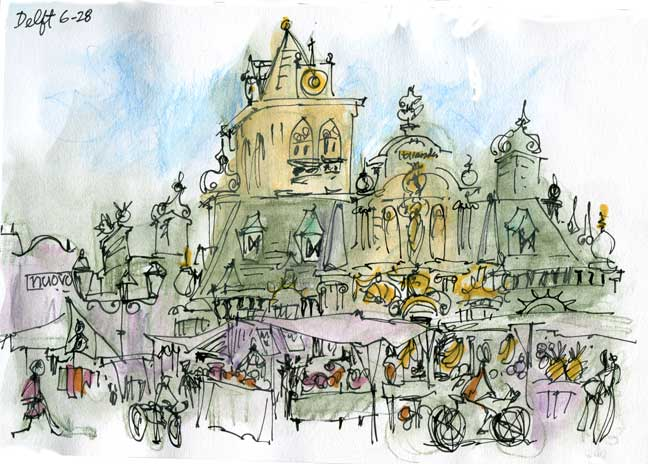 Rhoda Draws Europe! Exhibition