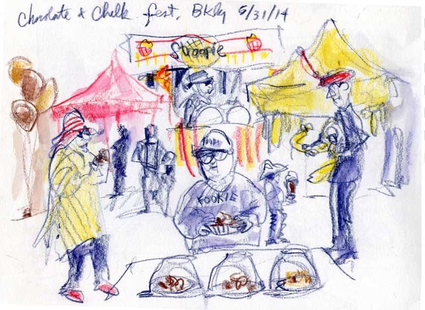 Chocolate & Chalk Festival, Berkeley