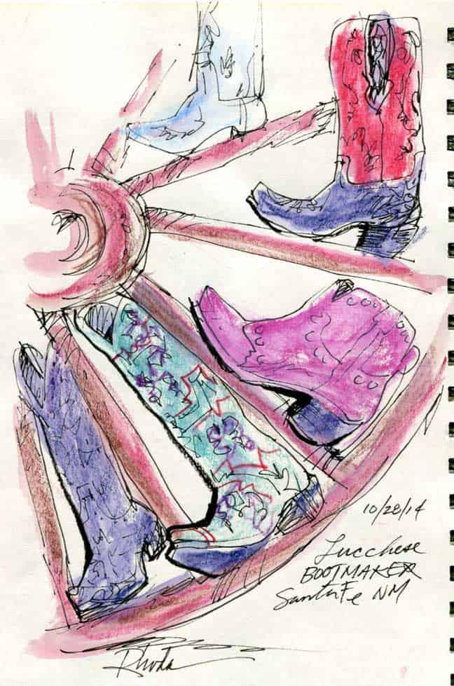 Santa Fe: Wheel Of Boots