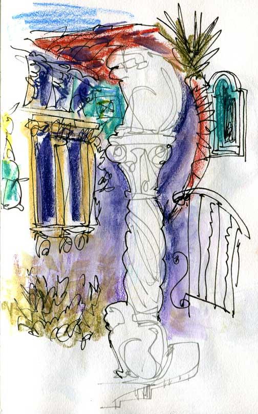 Sketch Workshop – Monterey & Hearst Castle: January 9-10, 2016