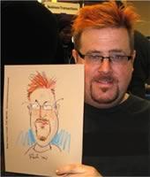 colored pencil caricatures
