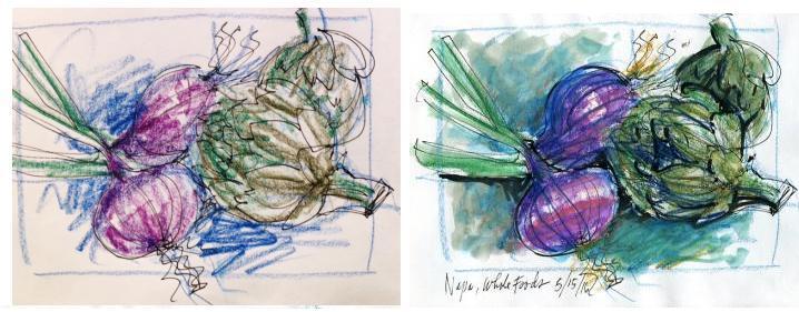 Onions & Artichokes