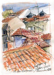 Lisbon rooftops Bairro Alto 72