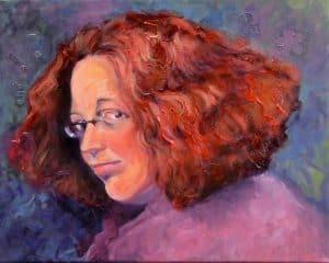Commissioned Portrait Of Celestia, By Rhoda Draws